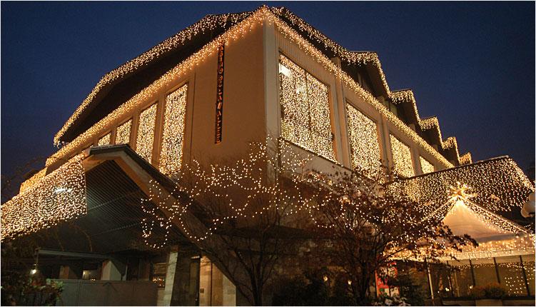Decorazioni Luminose Natalizie : Luminarie natalizie illuminazioni decorazioni luminose addobbi